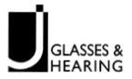 jglasses hearing logo